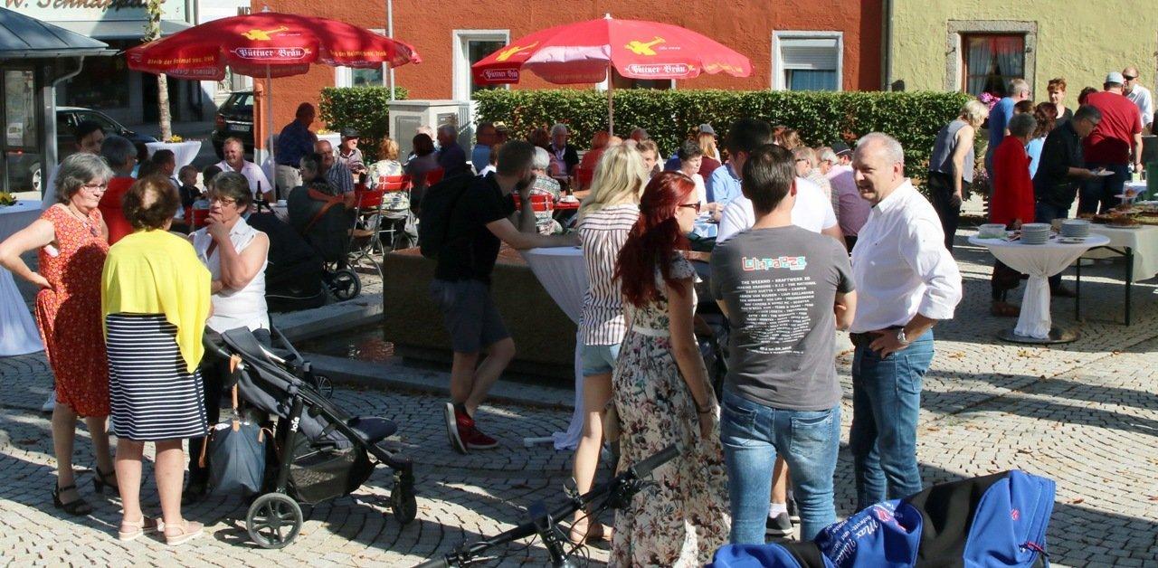 """CSU sorgt für Leben in der Ortsmitte mit dem """"Caféplatzl"""""""